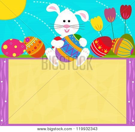 Easter Bunny Sign
