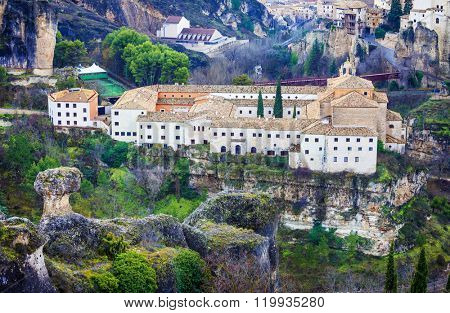 Paradors of Spain - parador of Cuenca (old monastery)