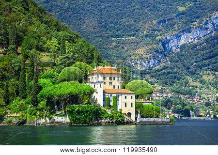 romantic Lago di Como, villa del Balbianello