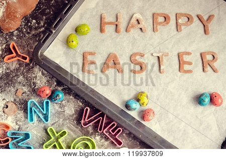 Easter Baking Concept