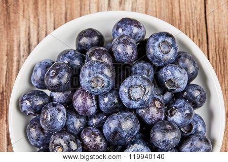 Bilberry Super Food Close Up
