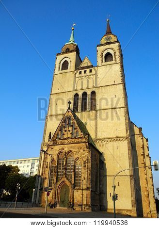 St. John's Church. Magdeburg.