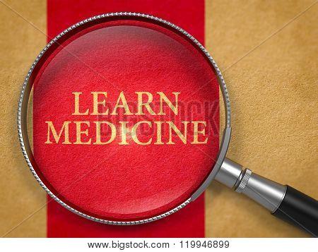 Learn Medicine Concept through Magnifier.