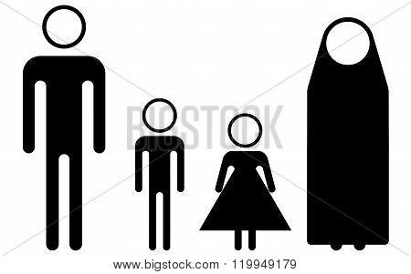 Syria Refugees (pictogram)