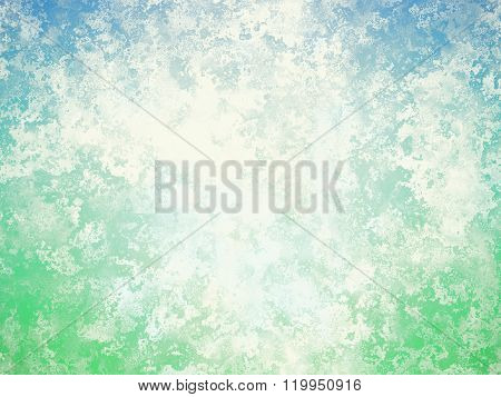 Sea Foam Abstract Grunge Background