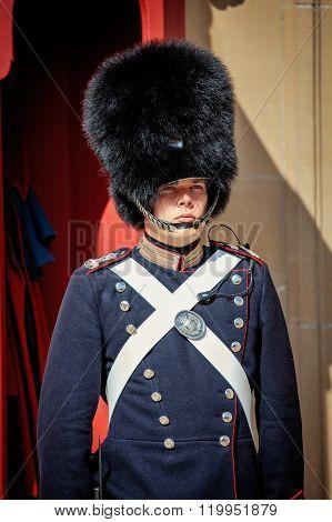 Guards Of Honor In Copenhagen