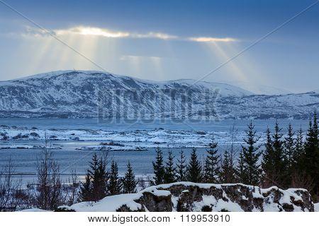 Landscape In Thingvellir