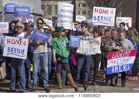 Bernie Supporters Look For A New America