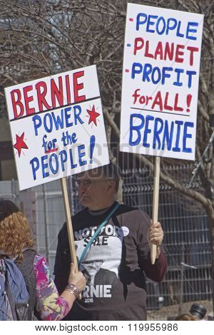 Bernie Sanders Rally Signs