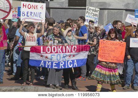 Bernie Sanders Surge Of Support