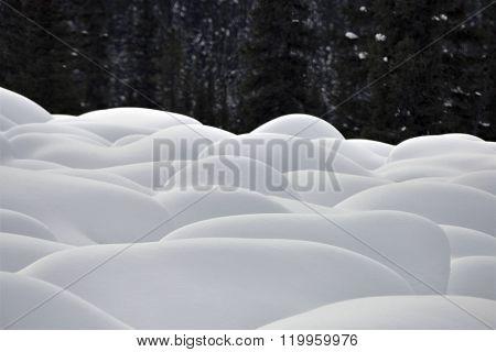 Mountain Snow Moguls