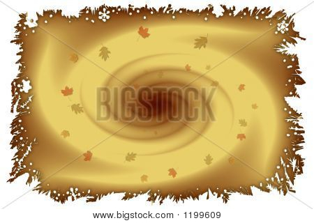 Stock Image Of Autumn Vortex
