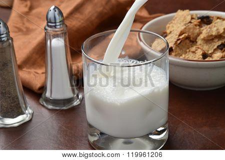 Pouring Milk