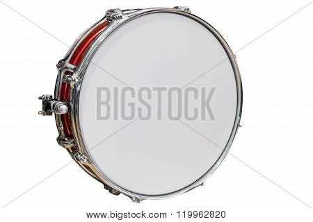 tambourine isolated on white background