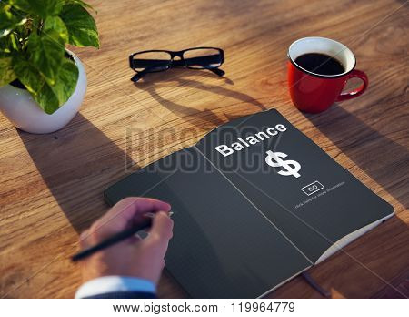 Business Planning Strategy Education Working Concept