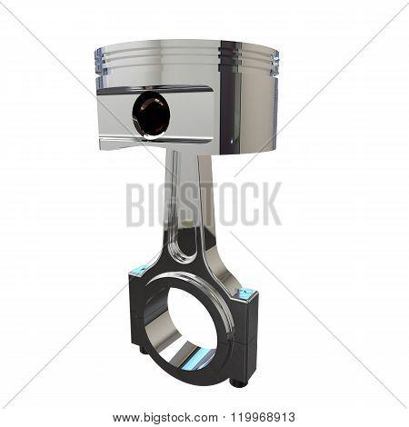 Piston 3D render