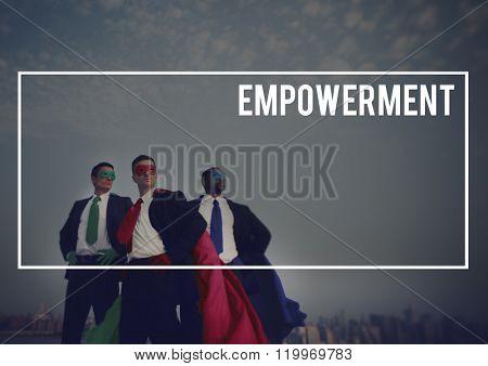 Empowerment Enable Encouragement Power Concept