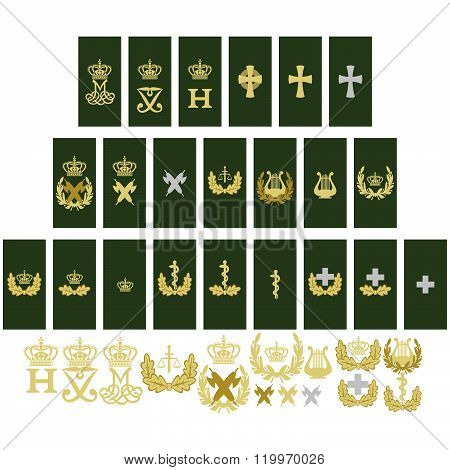 Insignia Service of the Armed Forces of Denmark