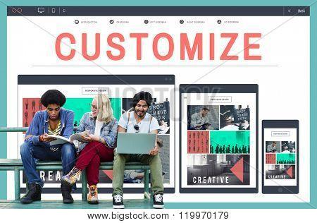 Customize Create Custom Unique Concept