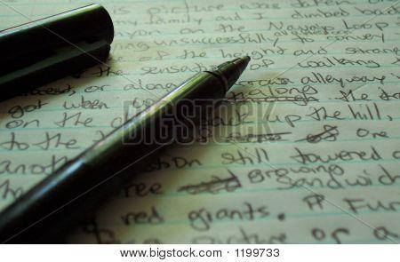 A Black Pen