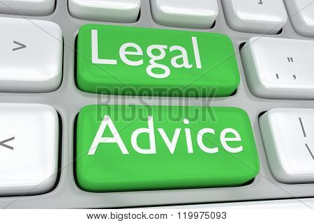 Legal Advice Concept