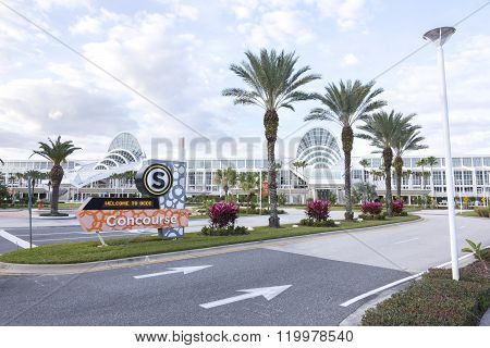 South Concourse Of Orange County Convention Center In Orlando, Florida