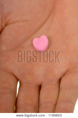 Blank Conversation Heart - Add Your Own Text