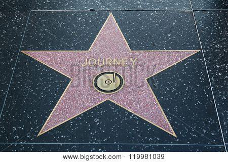 Journey's Hollywood Star