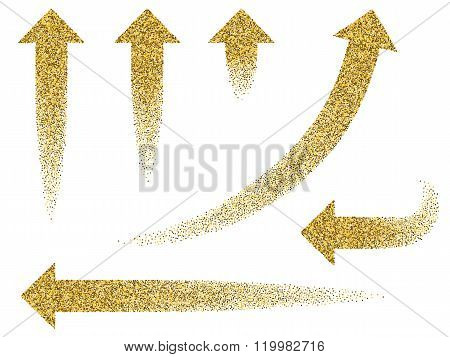 Set Gold Arrow