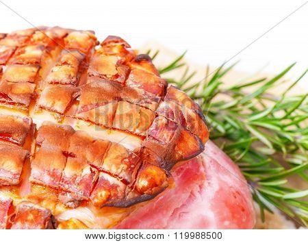 Crispy Rind, Close-up, Salt Roast