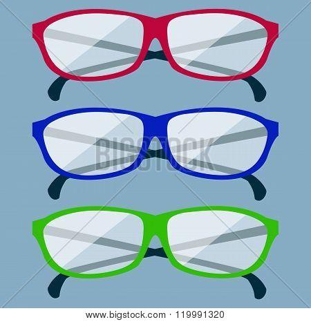 Classic Glasses Icon