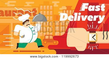 Food delivery. Order service. Symbol of food delivery. Express delivery vector. Delivery goods, food shipping service. Express delivery sign. Food delivery sign. Food delivery service. Fast delivery food. Food delivery banner.