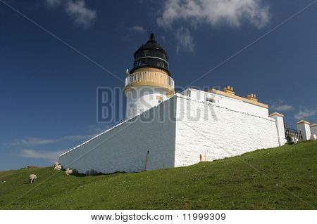 Lighthouse at Stoer, Scotland
