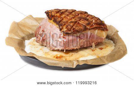Pork Roast, Fry Salt