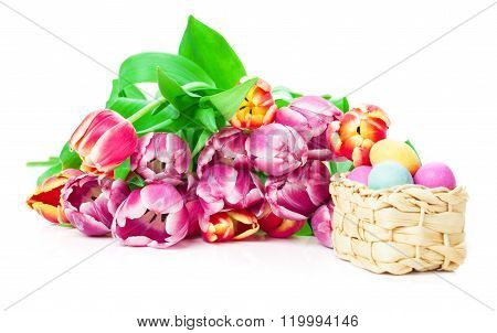Tulips, Easter Eggs