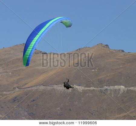 Paraglider, New Zealand