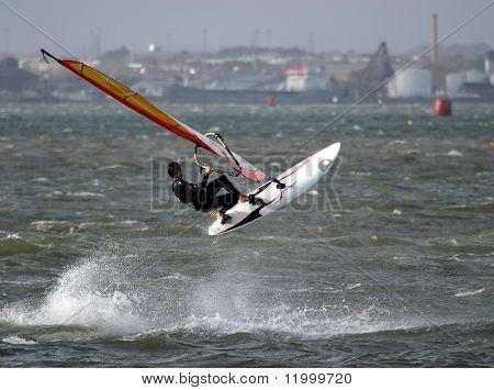 Kite Surfer, Poole Harbour