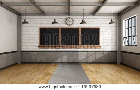 Retro Classroom