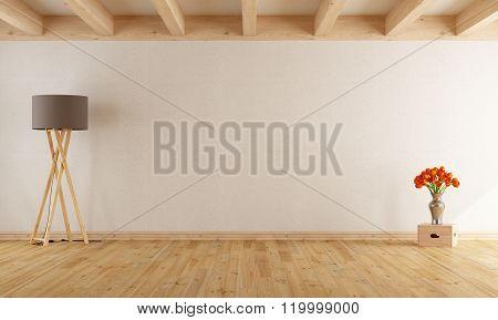 Empty Withe Room
