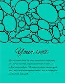 Постер, плакат: Hand Drawn Colored Stones