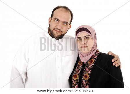Muslim arabic couple