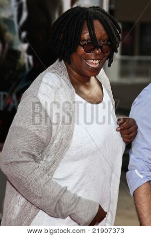 NEW YORK, NY - JULY 11: Whoopi Goldberg attends the New York premiere of 'Harry Potter And The Deathly Hallows: Part 2' at Avery Fisher Hall, Lincoln Center on July 11, 2011 in New York City.