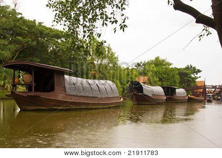 Thai cargo ships