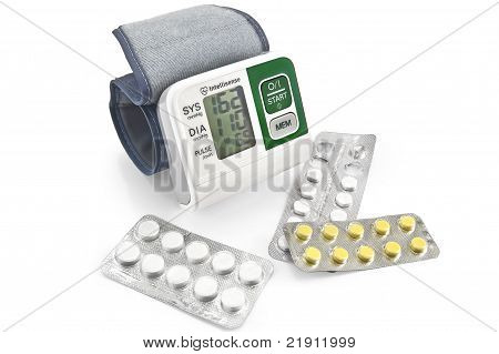 Tonometer With Pills