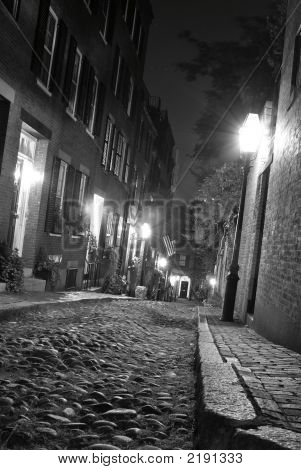 Crooked Streets Of Boston
