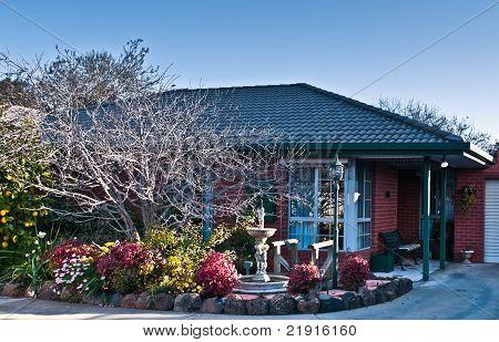 Urban Brick Villa And Garden
