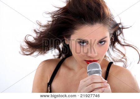 foxy female singer