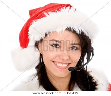 Christmas Customer Service Representative