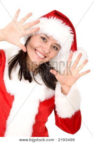 Christmas Female Santa