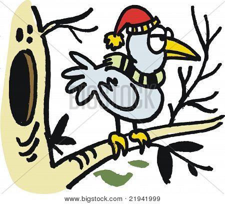 Winter Tree Cartoon in Winter Tree Cartoon